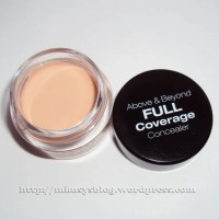 NYX Above & Beyond Full Coverage Concealer and Physicians Formula Conceal Rx Physicians Strength Concealer