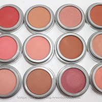Jordana Powder Blush Swatches (Updated)