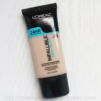 L'Oreal Infallible Pro-Glow Foundation