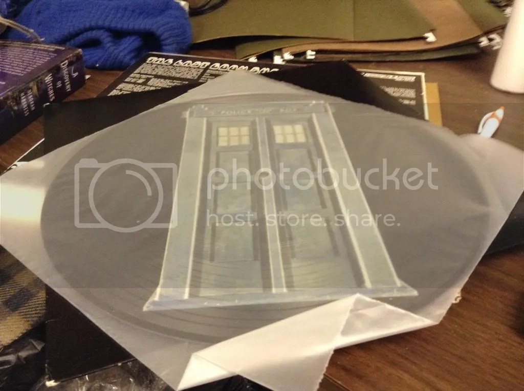 Doctor Who Picture Disc