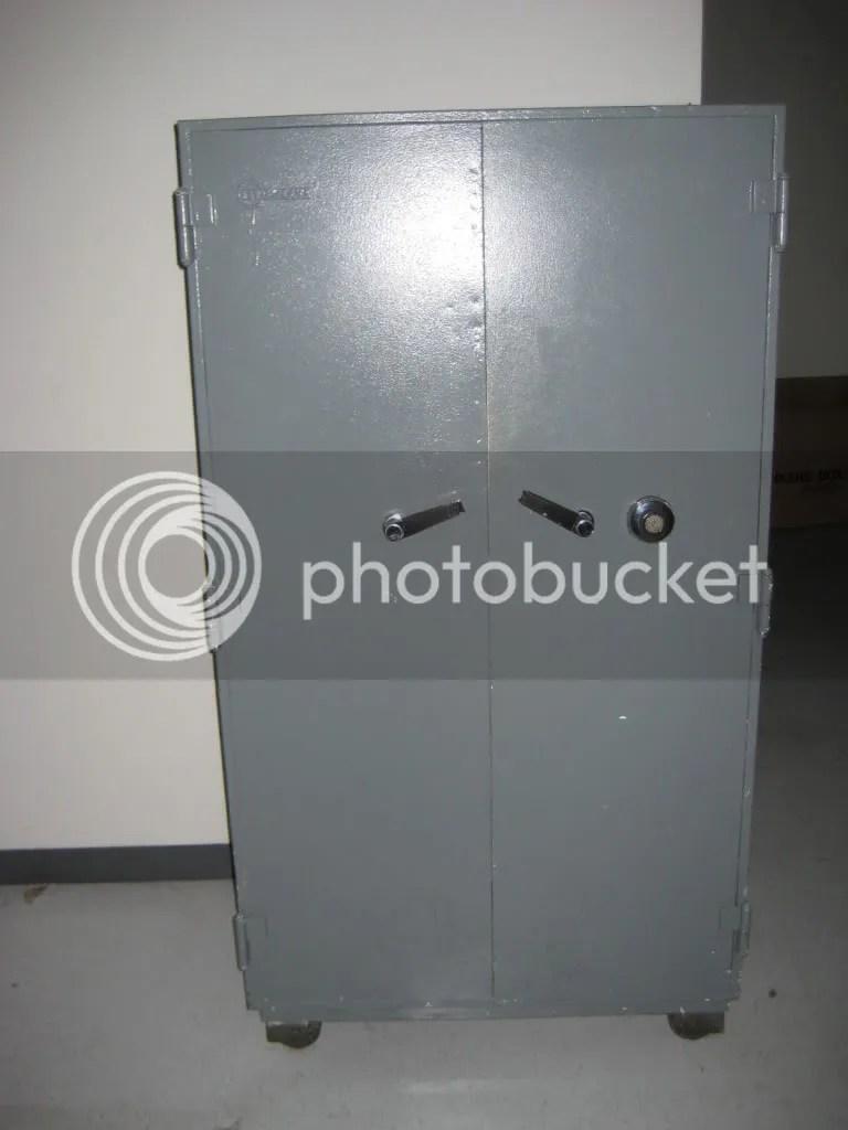 Double Door Mosler Safe