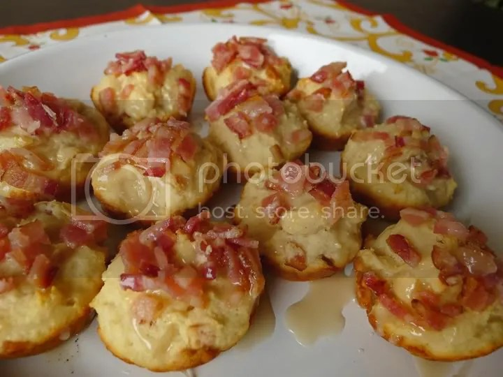 Bacon Corn Muffins with Pecan - Maple Glaze: Cooking with Maseca ...