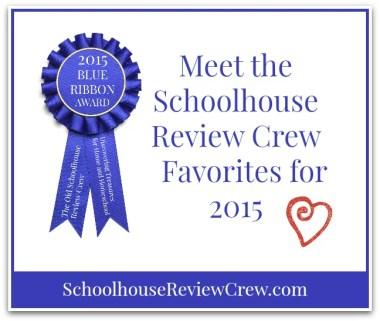 2015 Schoolhouse Review Crew Blue Ribbon Awards