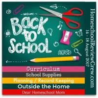 Back to Homeschool Annual Blog Hop - 2017
