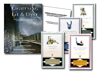 Lightning Literature and Composition Pack Shakespeare Comedies & Sonnets
