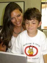 Professor B Mom with child