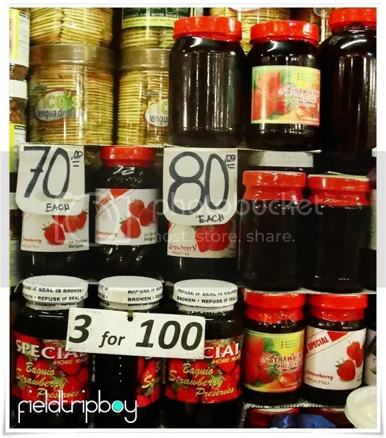 Strawberry Jam from Baguio City
