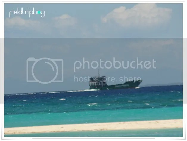 Boat going to Bantayan Island
