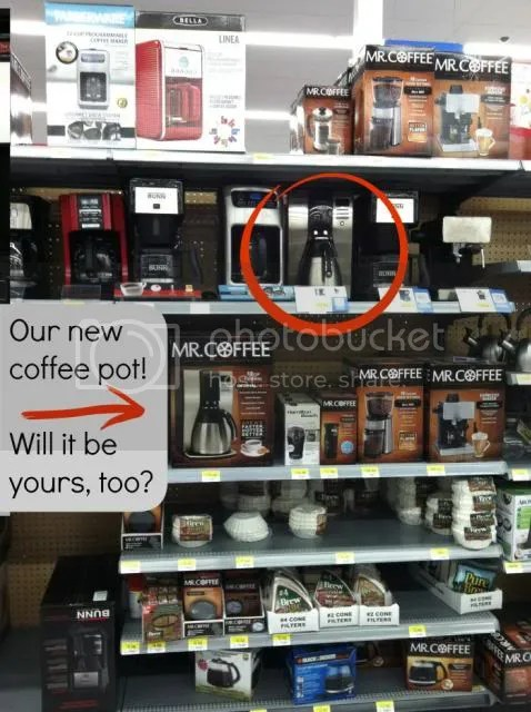 Mr.Coffee at Walmart - Enter to win! #CoffeeJourneys #shop
