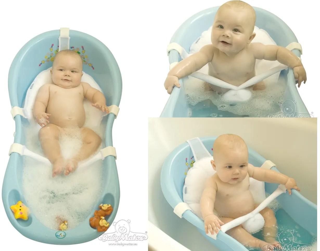 Newborn Baby Bath Sling Hammock Net Seat Support