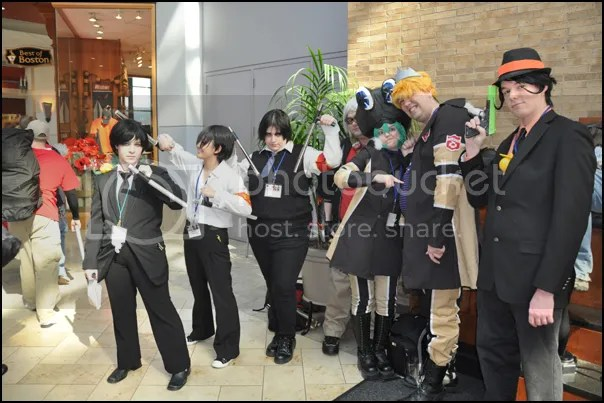 Hazard and other Reborn! cosplayers