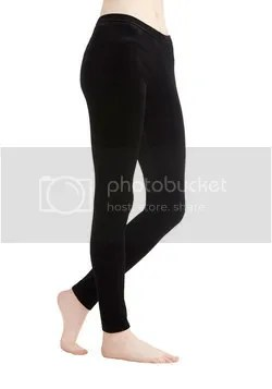 city adventure crushed velvet leggings in black (modcloth)
