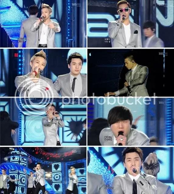 BIGBANG on Inkigayo