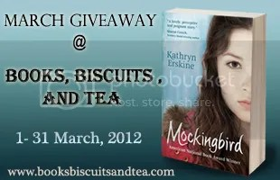 Books, Biscuits & Tea March giveaway