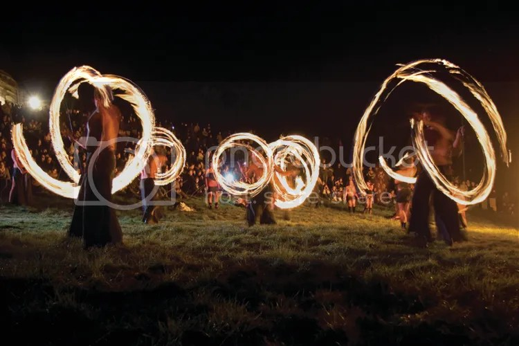 Beltane Fire Dancers