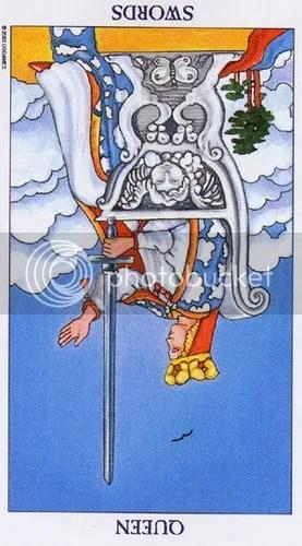 Aquarius - Queen of Swords reversed
