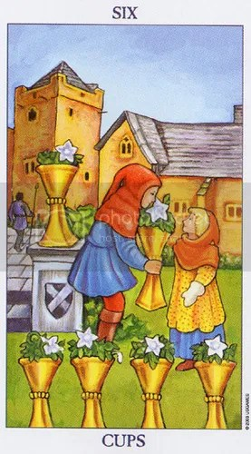 Cancer - Six of Cups