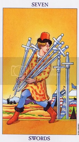 Scorpio - Seven of Swords