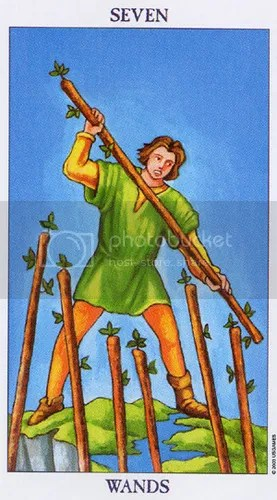 Cancer - Seven of Wands