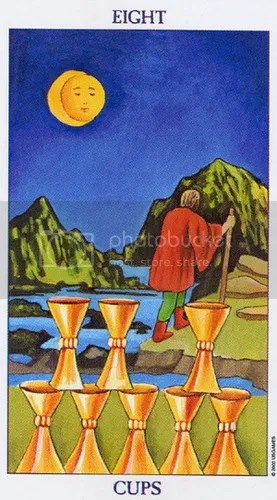 Radiant Rider-Waite Eight of Cups