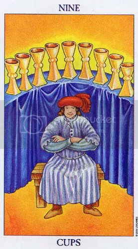 Gemini - Nine of Cups