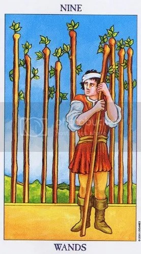 Libra - Nine of Wands