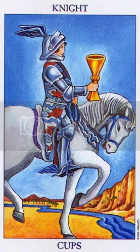 Libra - Knight of Cups