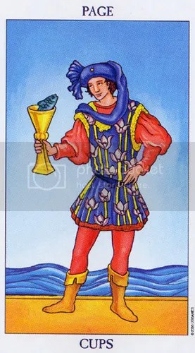 Virgo - Page of Cups
