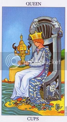 Libra - Queen of Cups
