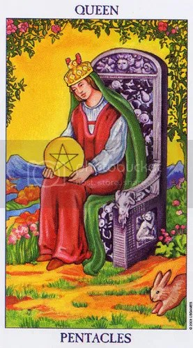 Taurus - Queen of Pentacles