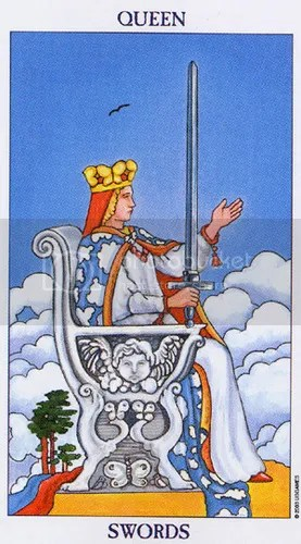 Pisces - Queen of Swords