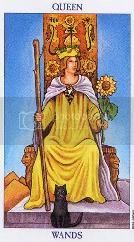 Pisces - Queen of Wands