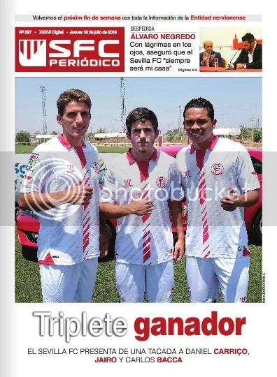 "SFC Periódico ""Triplete ganador"""