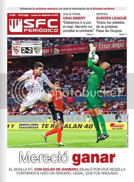 SFC Periódico 02.08.13 Sevilla-Málaga