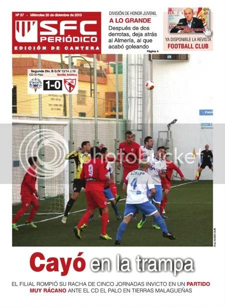 2013-12 (25) SFC Periódico Ed.Cantera El Palo 1 Sevilla At. 0