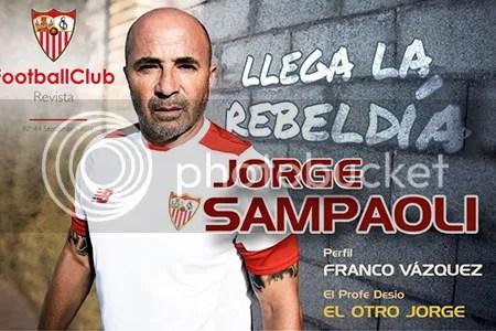 2016-09 FOOTBALL CLUB Jorge Sampaoli, llega la rebeldía