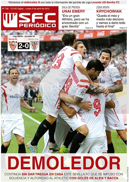 2015-04 (06) SFC Periódico Sevilla 2 Athletic 0