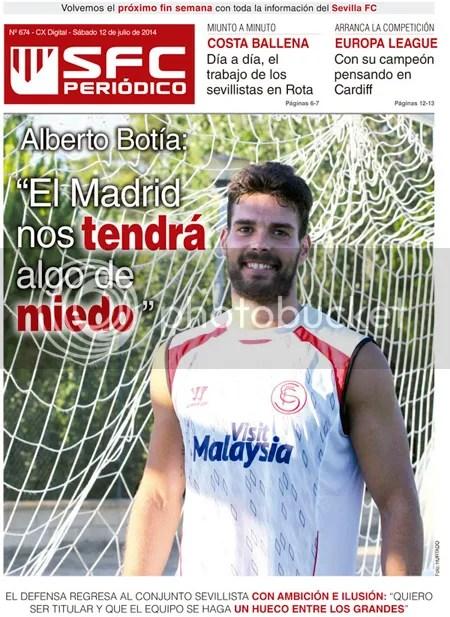 2014-07 (11) SFC Periódico Alberto Botía El Madrid nos tendrá algo de miedo