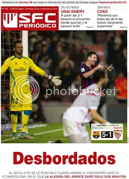 2014-11 (23) SFC Periódico Barça 5 Sevilla 1