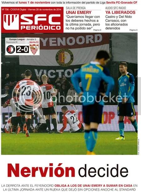 2014-11 (28) SFC Periódico Feyenoord 2 Sevilla 0