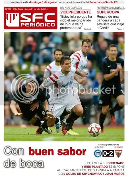 2014-07 (31) SFC Periódico  Hertha 0 Sevilla 2