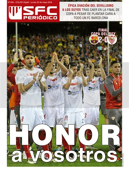 2016-05 (23) SFC Periódico Final Copa del Rey Barcelona 2 Sevilla 0