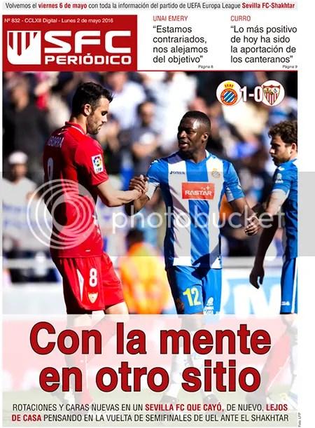 2016-05 (02) SFC Periódico Espanyol 1 Sevilla 0