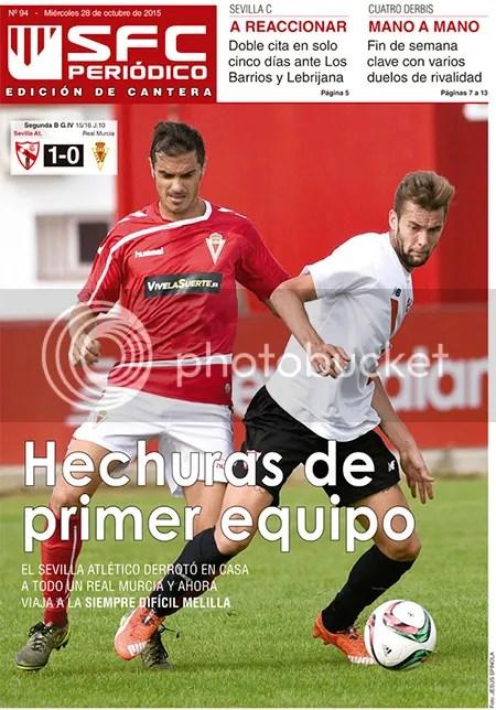 2015-10 (28) SFC Periódico Sevilla Atlético 1 Murcia 0 Hechuras de primer equipo