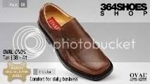 Sepatu Pria OVAL 6505 Tan
