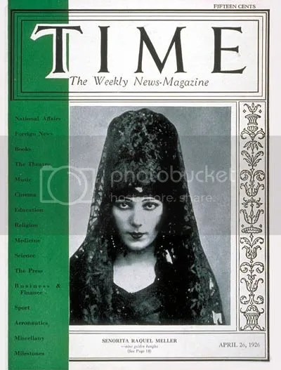 Green stripe Time magazine cover from 26 April 1926