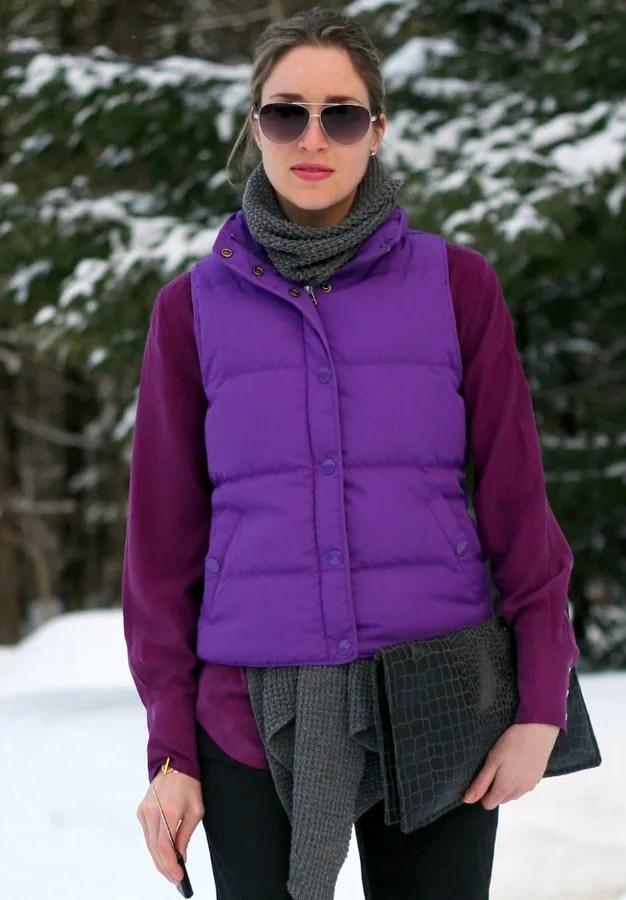 winter puffer vest j.crew