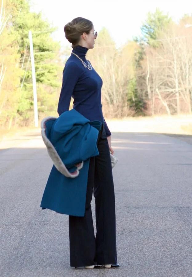 workwear turtleneck trouser