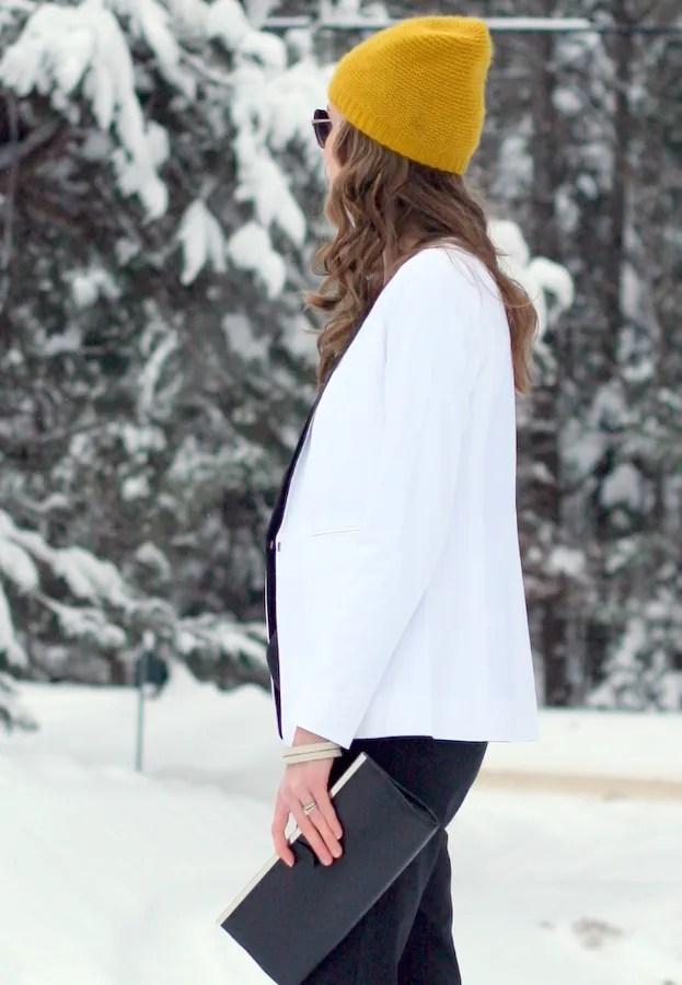 club monaco cashmere beanie hat