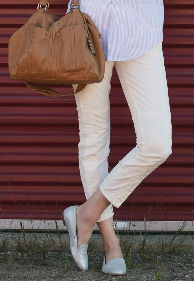 A Closet Full of Clothes - J.Crew Moto Pants and Cleo loafers